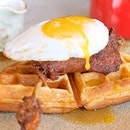 "Duck & Waffle is the highest 24/7 restaurant in London, considered one of the ""must-visit"" food places in the city."