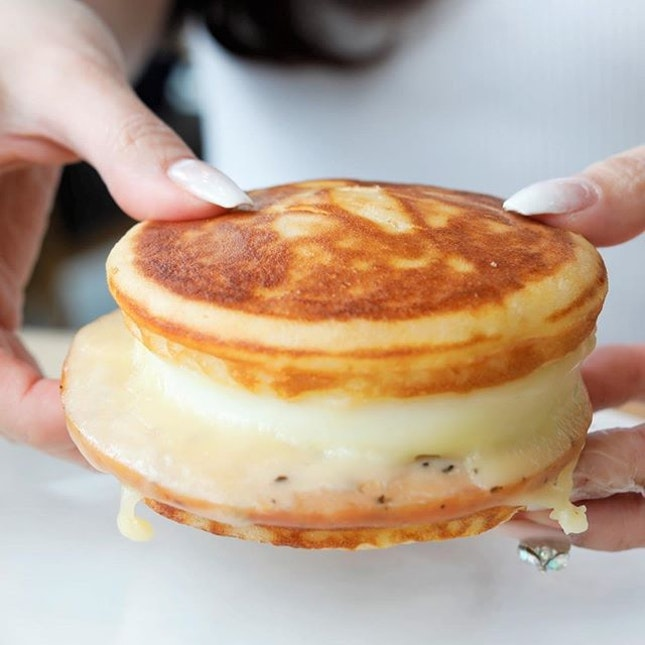 "Starbucks ""Panwich"" (Pancake Sandwich), Truffle Scrambled Egg Wrap, Bagel and more."