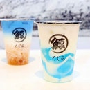 The Whale Tea 琉璃鯨 is known for its innovative signature drinks made with ingredients such as peach gum, spirulina, and Wuliangye, a Chinese baijiu made with a variety of grains.
