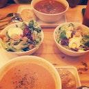 #dad #favourite #food #soup #salad