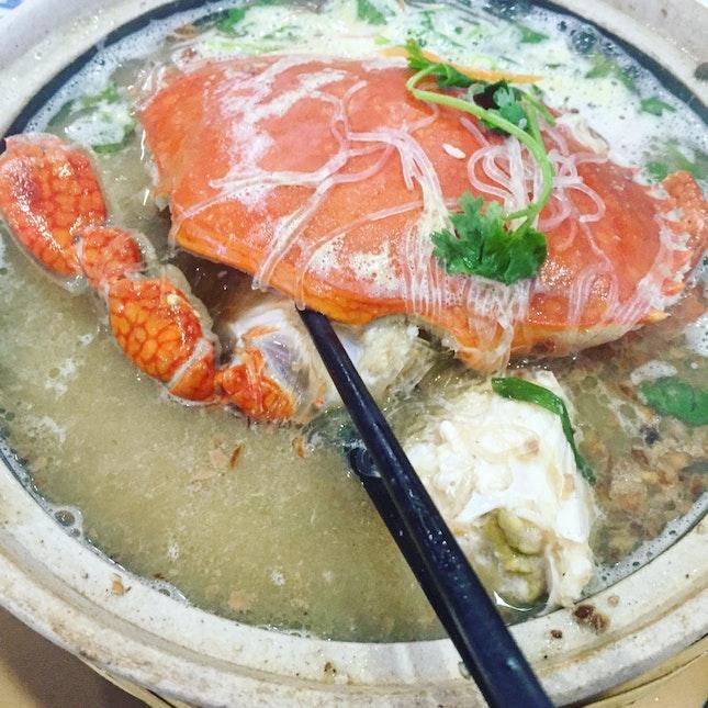 Crab Vermicelli ($65)