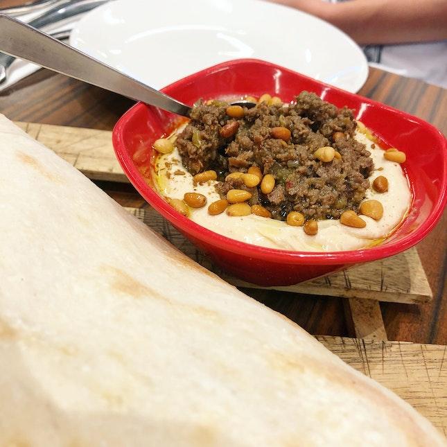 Hummus Kawerma ($9.90)