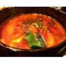 Kimchi Stew (김치찌개).