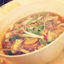 Sapo tahu seafood #tofu #squid #fishcake #carrot #onion #shrimp #comfortfood #vegetable #food #instafood #instadaily #lunch
