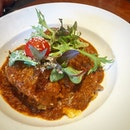 The rendang lasagne.