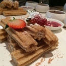 Crystal Sugar Churros Fondue