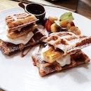 Waffle for brunch!