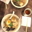 Itadakimasu minna-san 🙏🏻 Bon Appetit~  Chasu Tonkotsu Ramen - S$11.9++ Hot Ocha - S$1.90++ 📍: @menyamusashi Singapore
