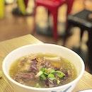 <🇯🇵> 花より団子 <🇬🇧> Dumplings than Flowers • 🍲: Oxtail Soup - S$8.80 📍: @toktoksg @313somerset Singapore