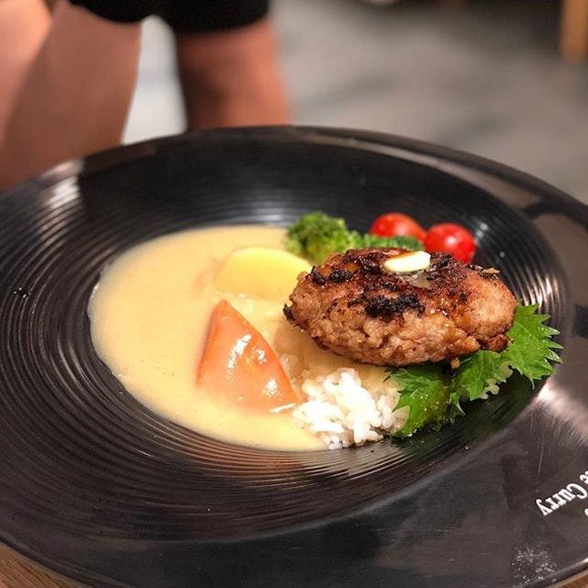 <🇯🇵> 起死回生 <🇬🇧> Turning bad to good • 🍛: Hamburg White Curry Rice - S$17.9++ 📍: @tengawahokkaidowhitecurry @milleniawalk Singapore