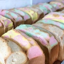<🇩🇪> Regenbogen <🇬🇧> Rainbow • 🥪: Rainbow Bread - S$3.2/Loaf 📍: Jie Traditional Bakery, Singapore