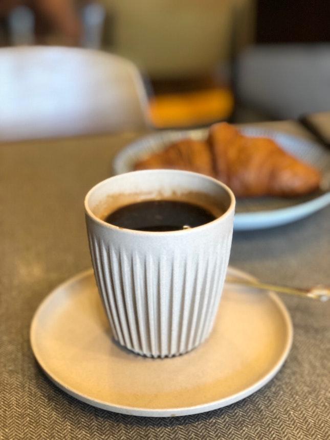 Coffee & Pastry Set $8