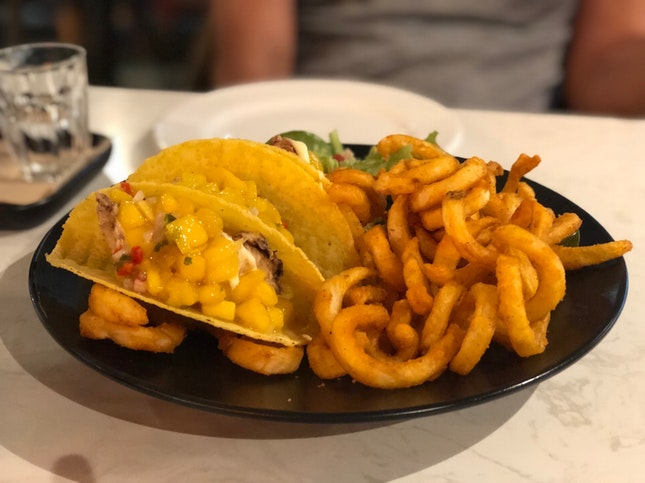 Crispy Fish Fillet Tacos