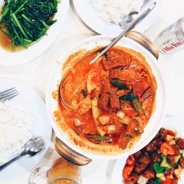 Claypot Curry Fish Head ($22)