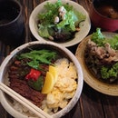 12.12.2014 \\ The lunch sets at Tomo Izakaya are actually quite affordable considering the quality and amount of food served.