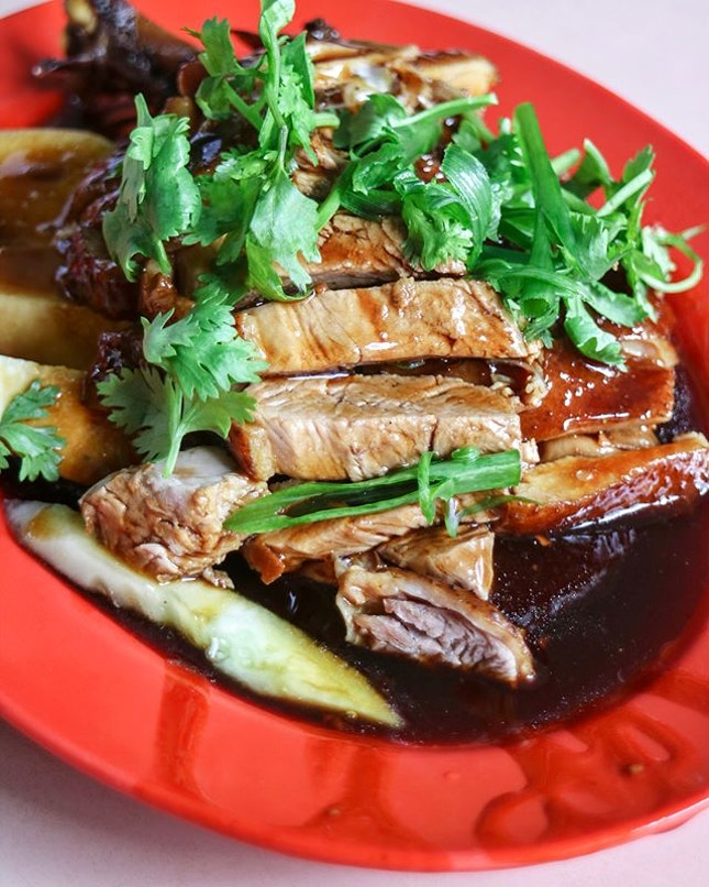 Right beside Balestier Road Hoover Rojak is another stall that sells an Ugly Delicious dish that's braised duck.