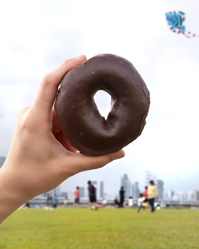 In celebration of World Chocolate Day, which happens to be on Saturday, 7 July 2018 today, Krispy Kreme has launched the new Chocolate Glaze Doughnut, which was first introduced in Auckland, New Zealand before its global rollout.