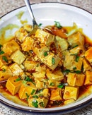 It's not difficult to differentiate between the good and bad mapo tofu.