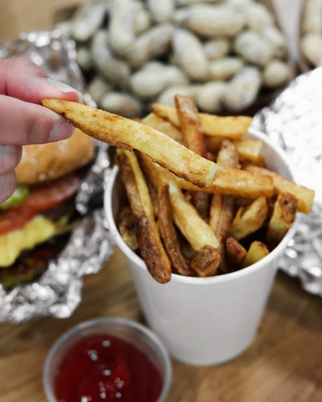 I love fries and the ones from Five Guys certainly is a notch above the competition.
