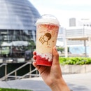 HEYTEA Singapore has just launched a limited-time seasonal drink, the Strawberry Mango Boom ($8.90), an inspiration from their signatures of Mango Cheezo and Strawberry Cheezo.