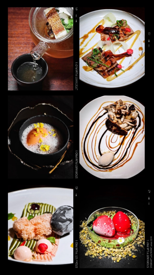 It was an evening of surprises and wows as we embarked on the tasting menu of the collaboration between Akira Back and celebrity pastry chef Janice Wong.