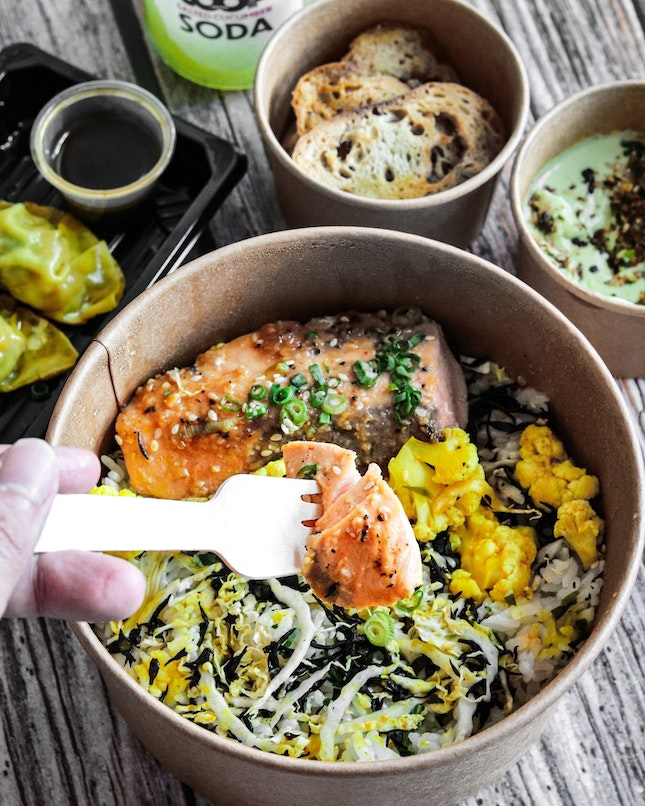 Opened by the folks behind Neon Pigeon in June 2021, @GetCoopSG is a virtual restaurant that specializes in sando burgers, rice and salad bowls, and ramens at pocket friendly prices without compromising on the quality and taste.