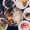 Yesterday's long awaited steamboat dinner with ma girls 😘 Always heading back to this particular steamboat restaurant 'cos it's affordable (S$22 per person) with good service and besides, I really love their Tom Yam soup base 😋👍🏻 #burpple #whati8today #8dayseat #instafood #instafoodsg #instafood_sg #eatoutsg #whattoeatinsg #instaeats #instasg #foodporn #instagood