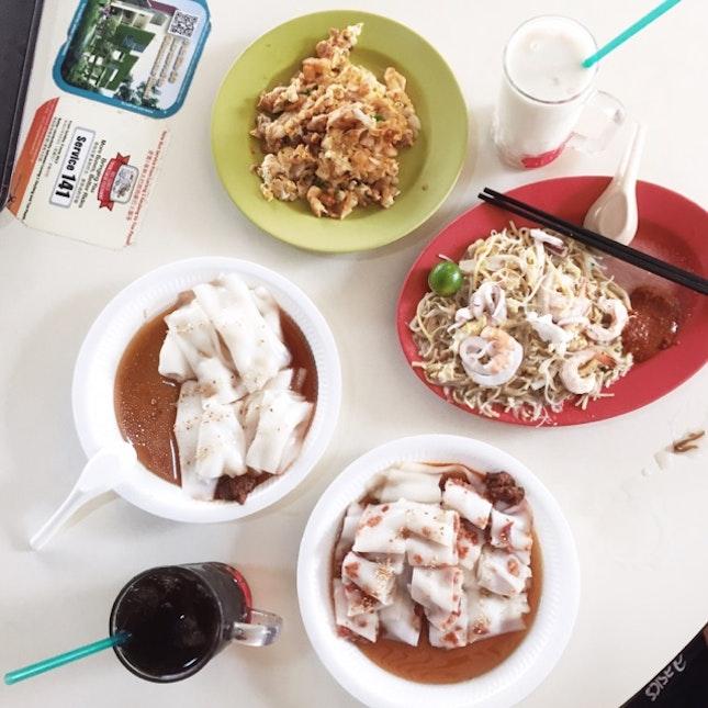 Singaporean Breakfast