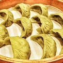 I love Din Tai Fung's veggie dumplings but they look to have slimmed down since turning green 😔 Boo!