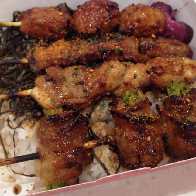 Yakitori On Rice