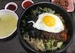 Bibimbap With Runny Egg Yolk 😋 $7.50