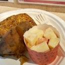 Set Meal (1/4 Chicken, 2 Sides) $12.00