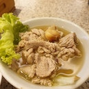 Pork Tenderloin Soup $7.40 + Plain Rice $1.00