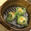 Scallop Pea-shoot Dumpling $4.80 (🐡🌟)