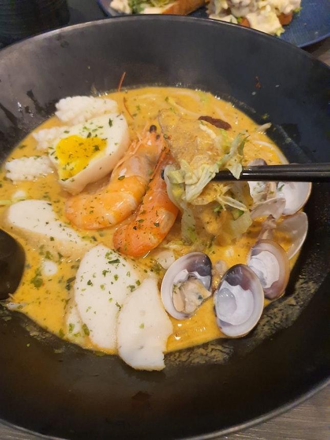 #BurppleBeyond #1for1 Seafood Peranakan Laksa $12.80
