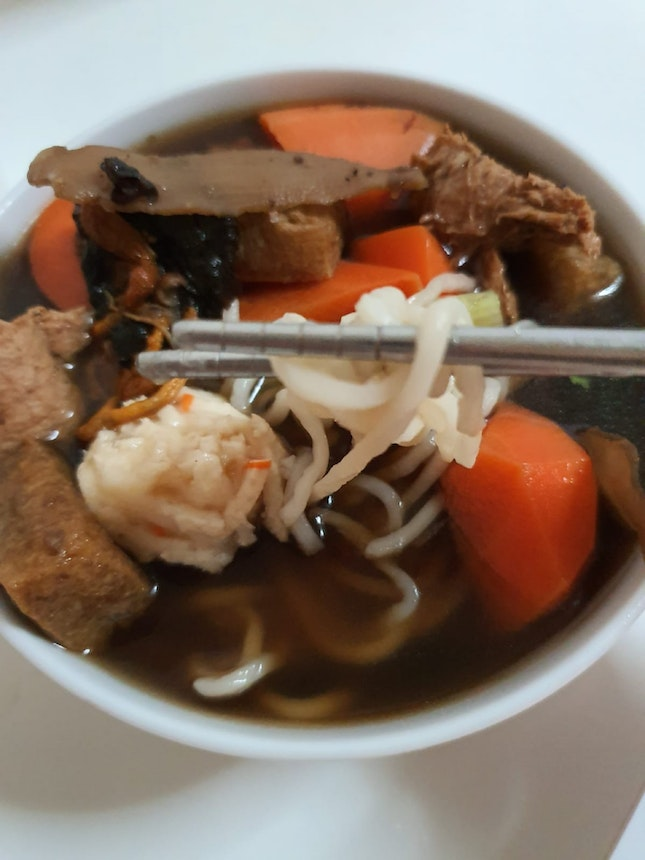 Angelica Herbal Noodle With Cordyceps $7.90