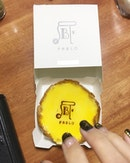First grab hold on PABLO cheese tart !!!
