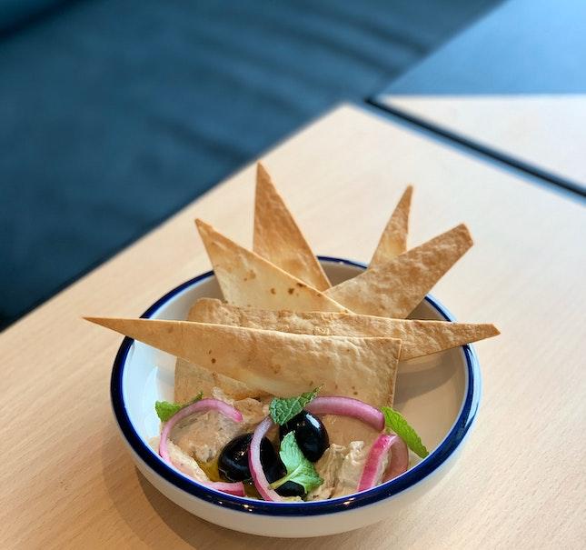 Smoked Tuna Dip With Tortilla Chips
