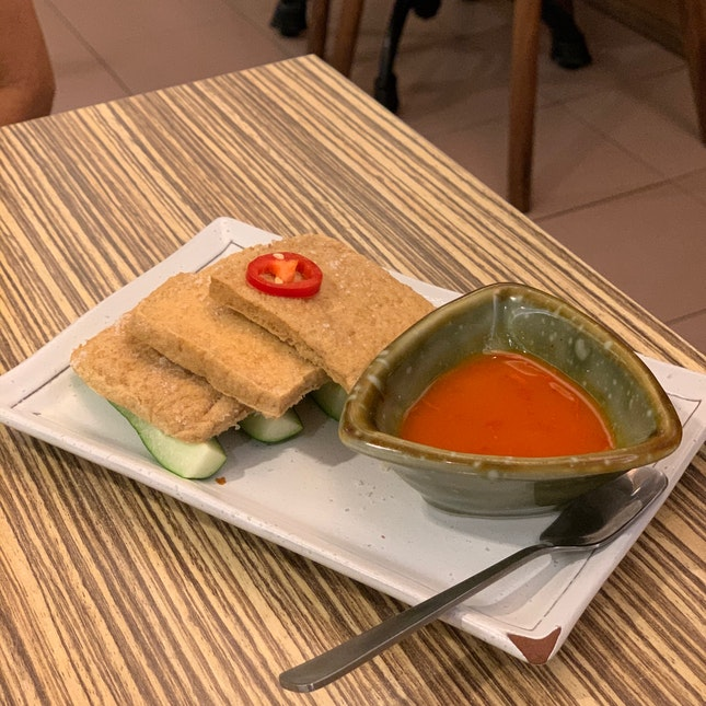 Salted Beancurd With Tomato Paste