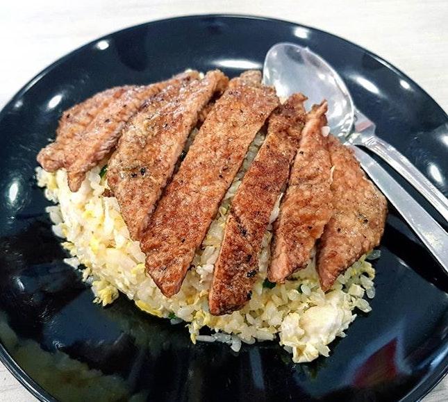 pork ribs fried rice 👍🏻 20.1.19 #foodporn #sgfoodporn #foodsg #sgfoodies #instafood #foodstagram #vscofood #burpple #hungrygowhere #hawkerfood #hawkercentre
