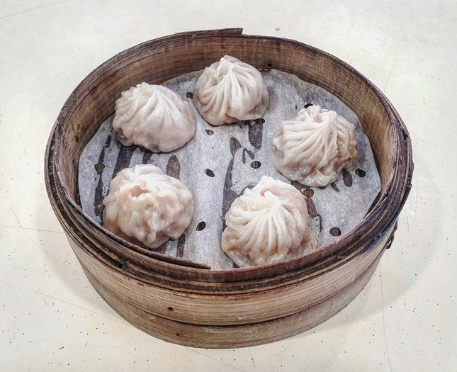 xiao long bao 👍🏻 30.8.19 #foodporn #sgfoodporn #foodsg #sgfoodies #instafood #foodstagram #vscofood #burpple #hungrygowhere #hawkerfood #hawkercentr