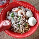 minced pork noodles 👍🏻 29.12.19 #foodporn #sgfoodporn #foodsg #sgfoodies #instafood #foodstagram #vscofood #burpple #hungrygowhere #hawkerfood #hawkercentre