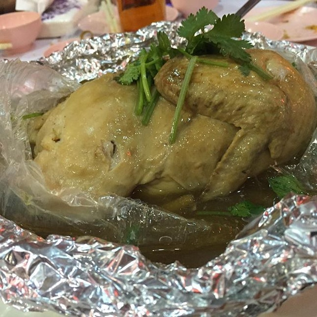 Braised Chicken with Chinese Herbs