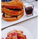 Waffle Stacker ($19.90) Requested the bacon to be served separated.