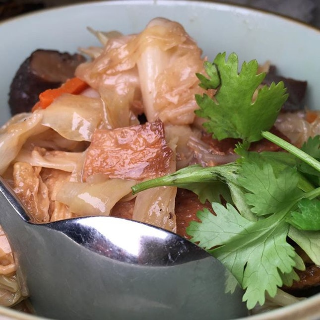 Chap Chye  Peranakan mixed vegetable stew Available at @BabaChews #SGFoodFight