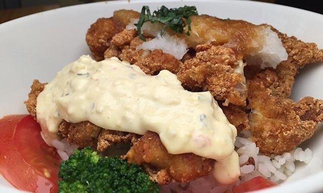 Crispy Chicken + Ochazuke