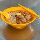 Hougang Fish Ball Minced Meat Noodles