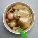 Ginger Soup + Bean Curd