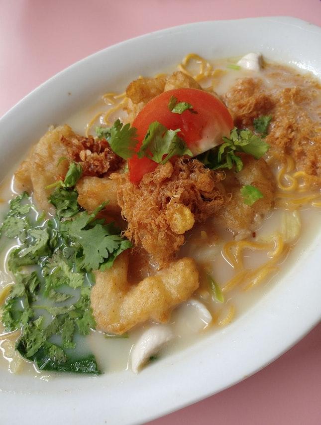 Sliced & Fried Fish Soup -$5