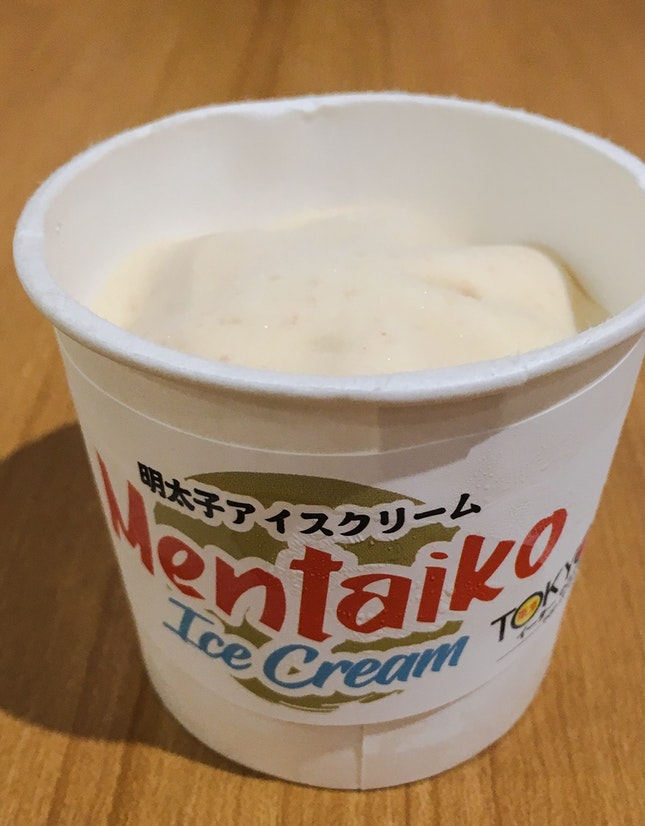 Mentaiko Ice-Cream